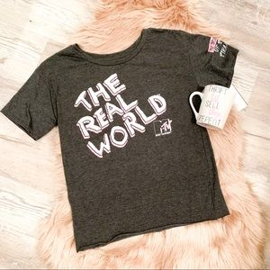 NEW MTV The Real World Graphic Tee